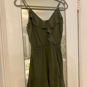 Army green Express Sundress/ Summer Dress